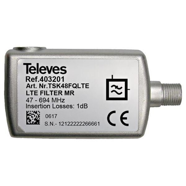 Televes 403201 Suodatin kanaville 21-48