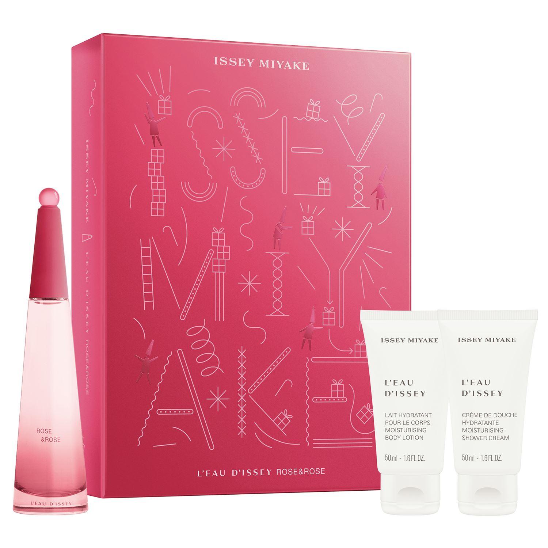 Issey Miyake - El Rose & Rose EDP 50 ml + Showergel & Body Lotion 50 ml - Giftset