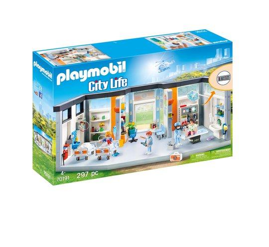 Playmobil 70191 Sykehus Med Møbler