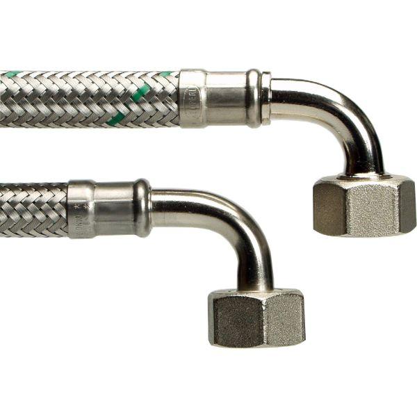 Neoperl 8190893 Liitäntäletku 15x15 kulma/kulma, 800 mm