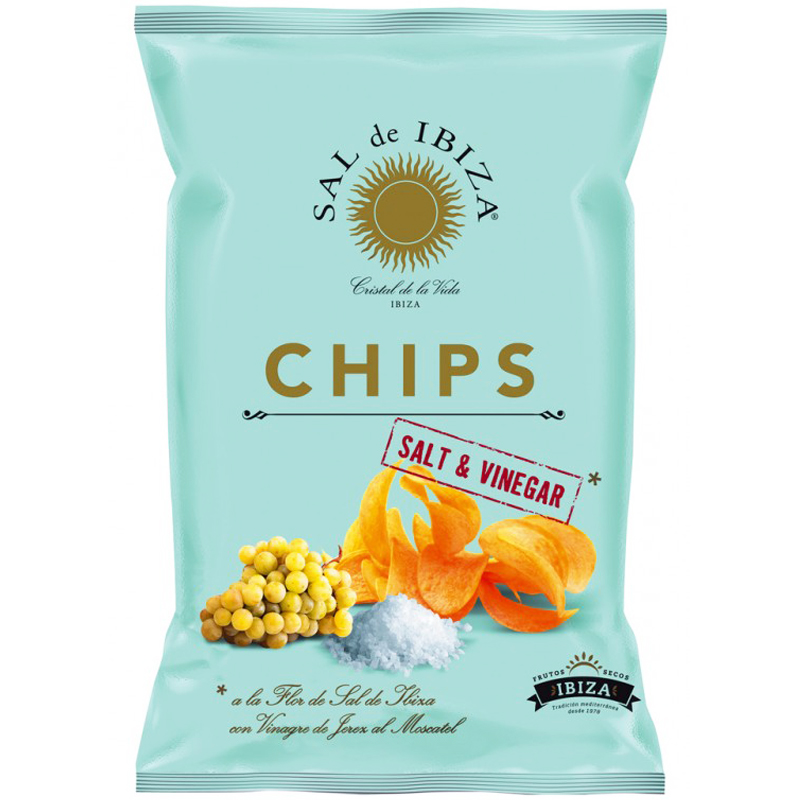 Chips Salt & Vinäger - 50% rabatt
