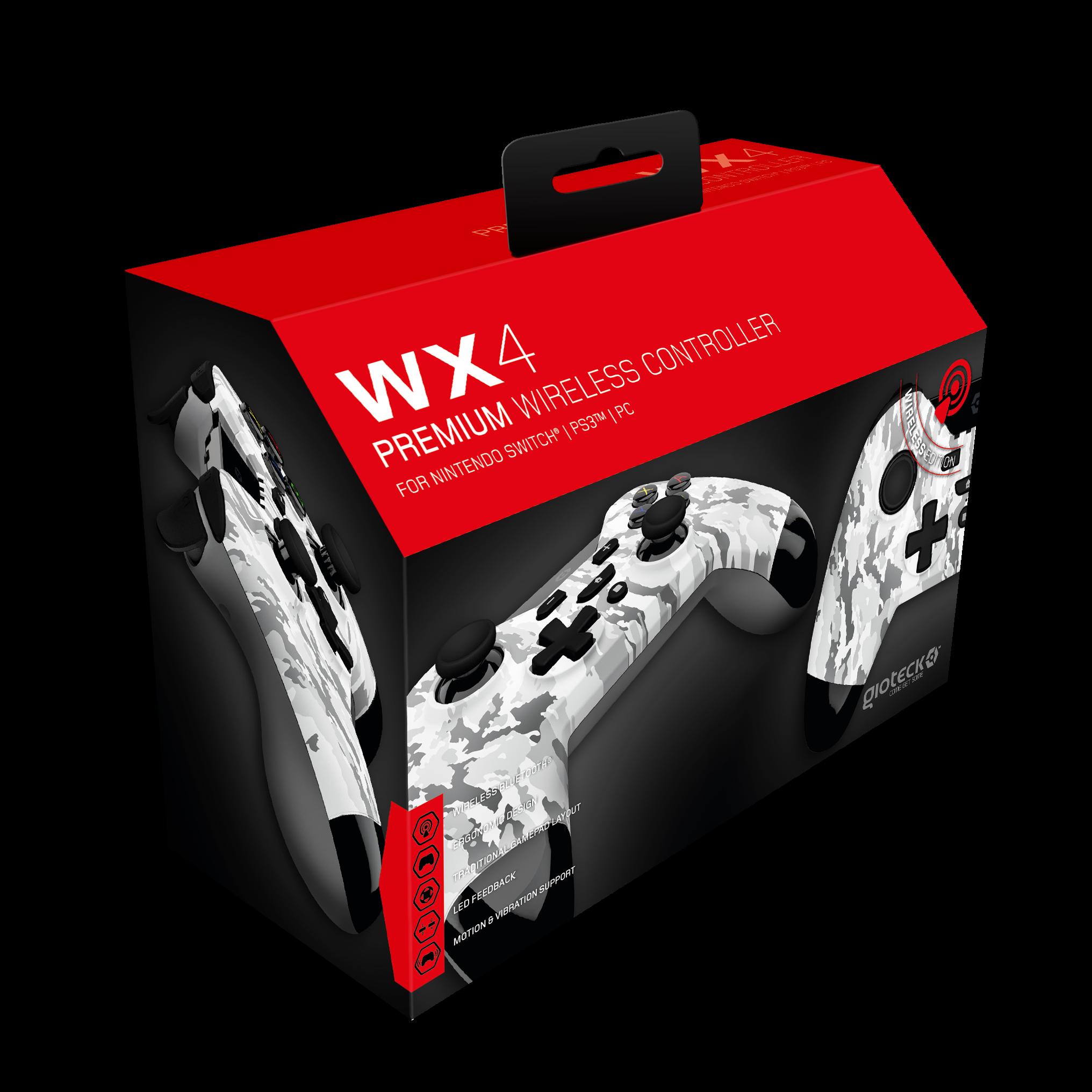Gioteck Nintendo Switch WX-4 Wireless BT Controller (Camo)