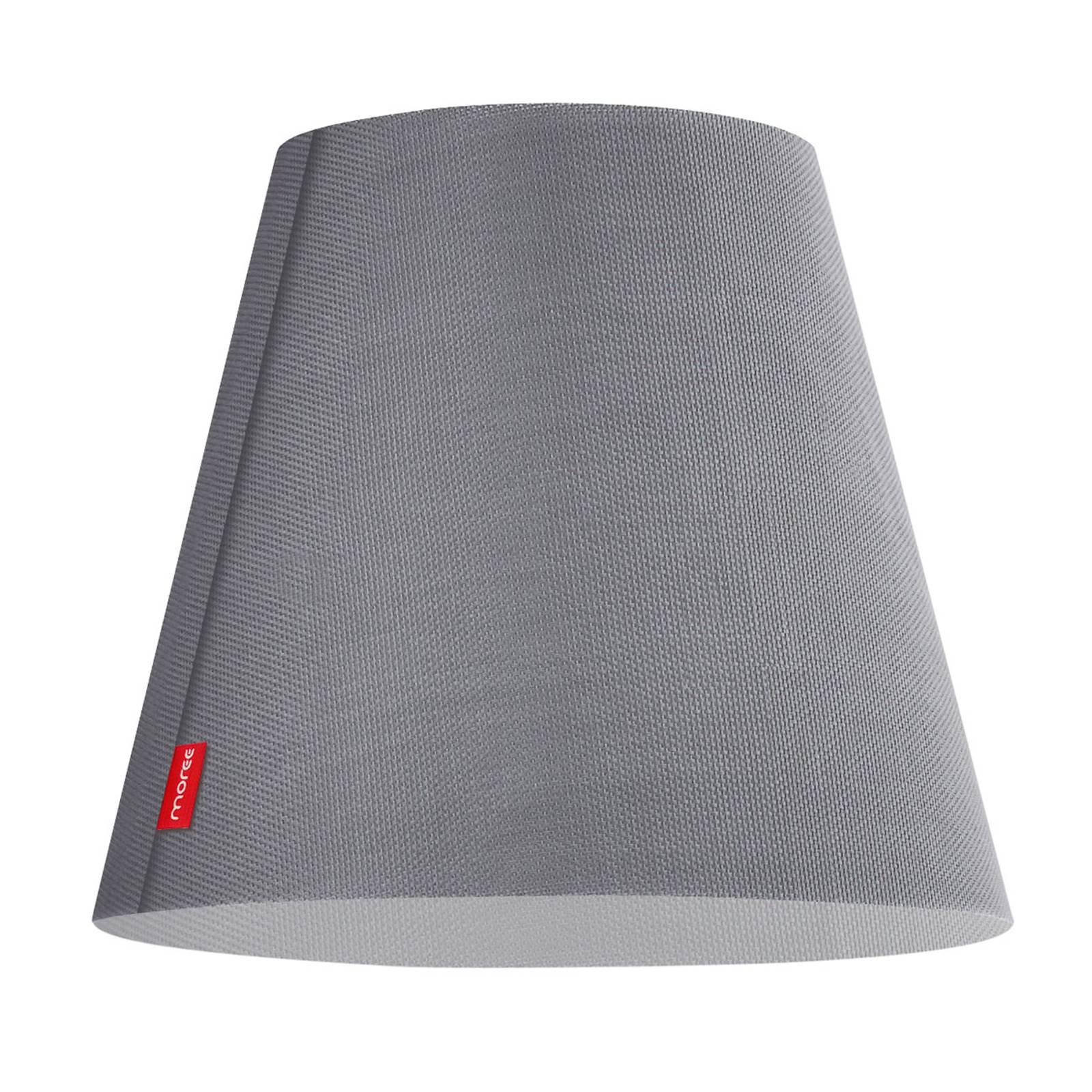 Gulvlampe Swap Outdoor, grå stoffbelagt skjerm