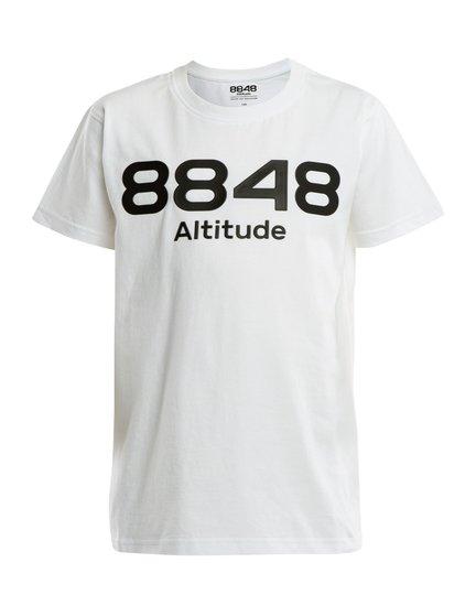 8848 Altitude Lium JR T-Shirt, White, 120
