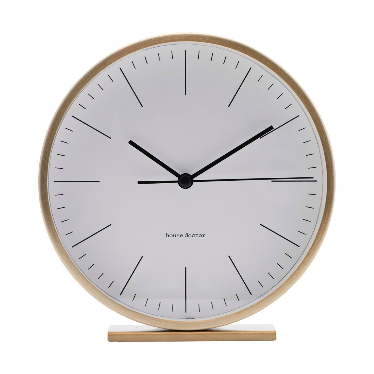 House Doctor - Hannah Table Clock - Gold (EA0700)