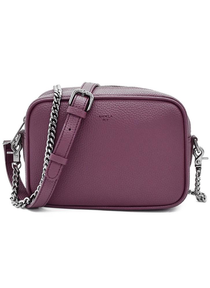 Angela Roi Grace Mini Crossbody Signet Purple