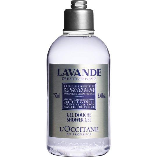 L'Occitane Lavender Shower Gel, 250 ml L'Occitane Suihku- ja kylpytuotteet