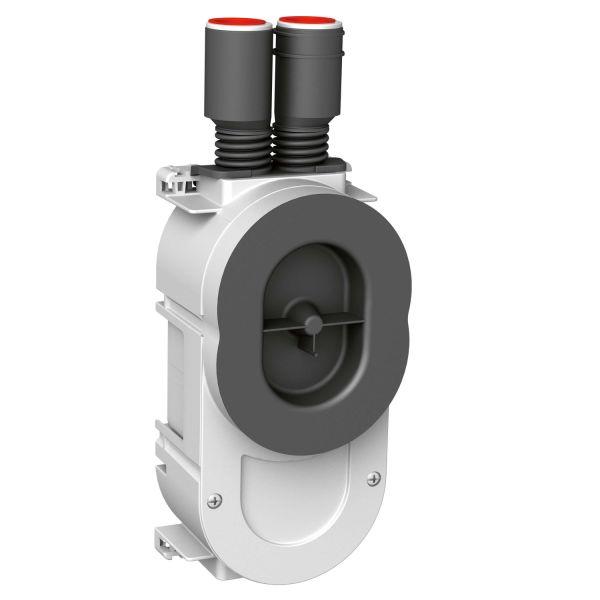 Schneider Electric IMT37330 Apparatboks innfelt 13 mm, oval