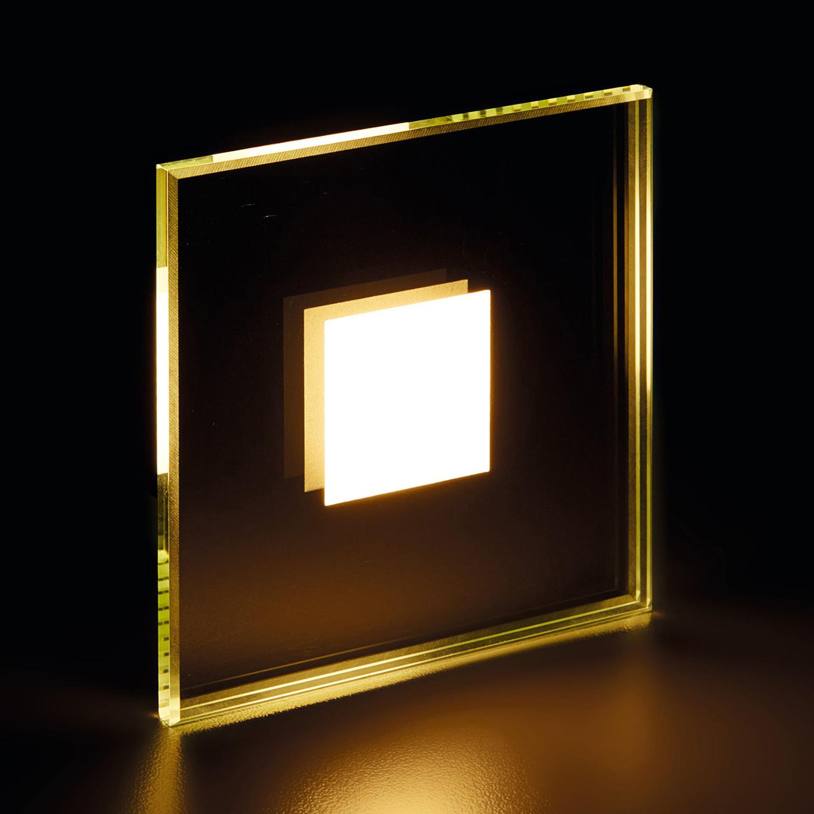 LED-uppovalaisin Fortune, peilililasi