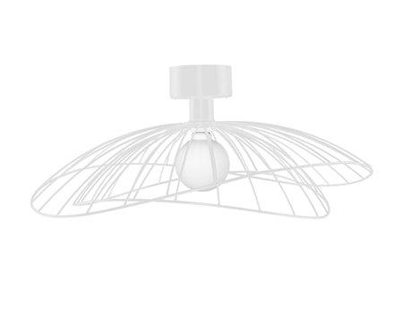 Ray Plafond/Vegglampe Hvit