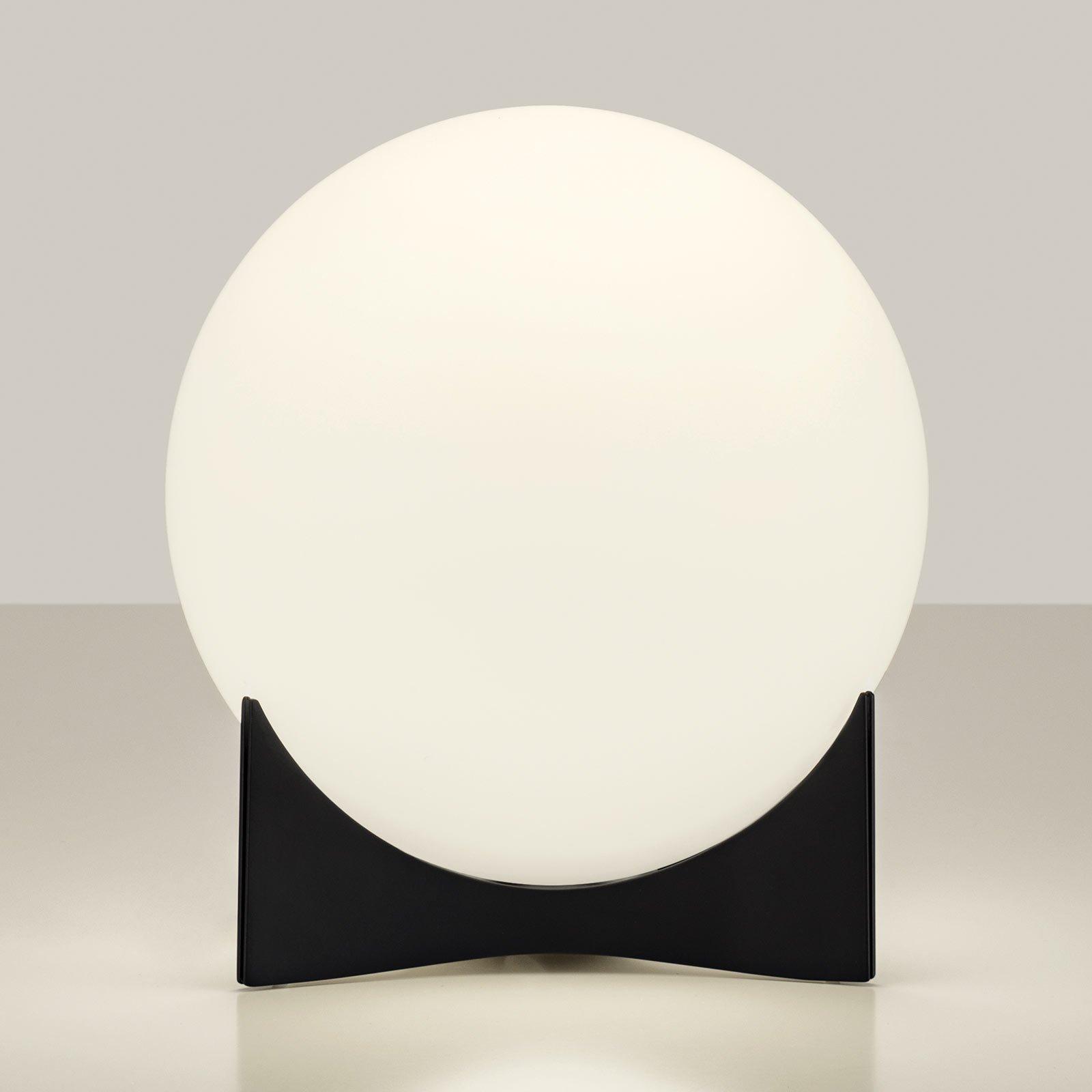 Terzani Oscar bordlampe av glass, svart