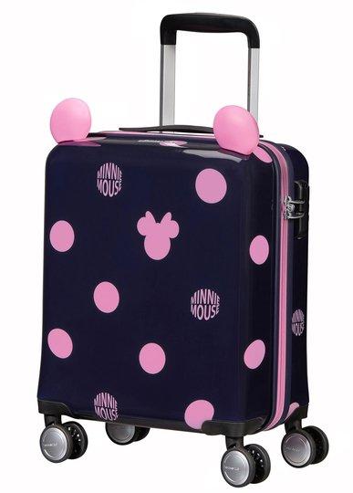 Samsonite Disney Spinner Koffert 22L, Minnie Pink Dots