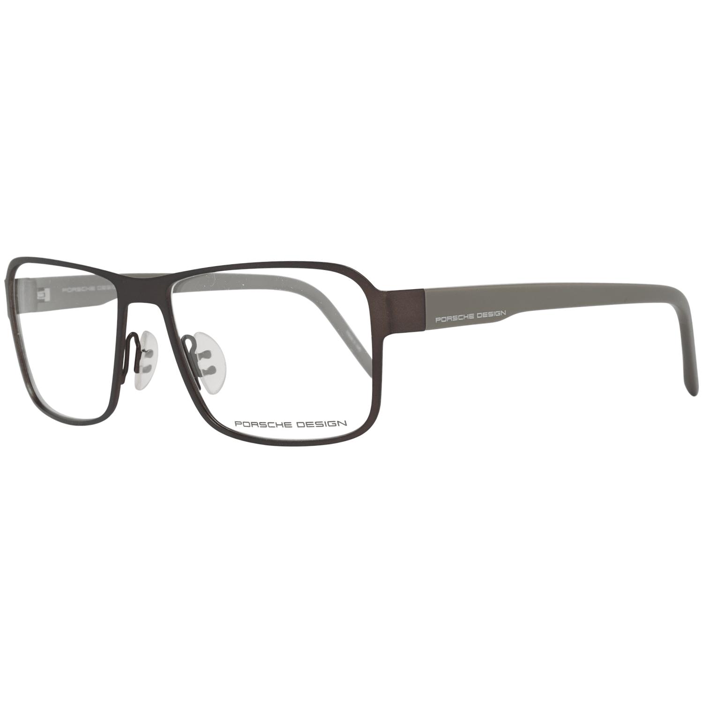 Porsche Design Men's Optical Frames Eyewear Brown P8290 56B