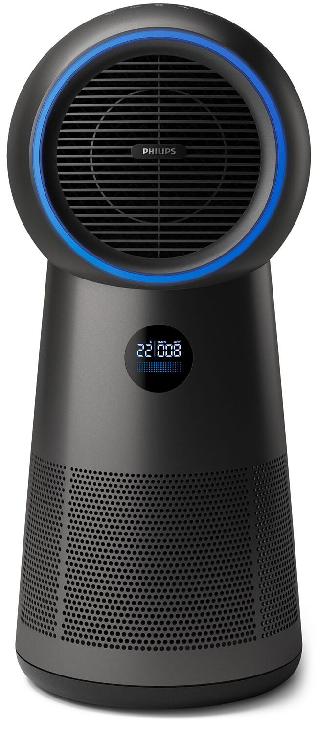 Philips - 3-in-1 air purifier, fan and heater - AMF220/15