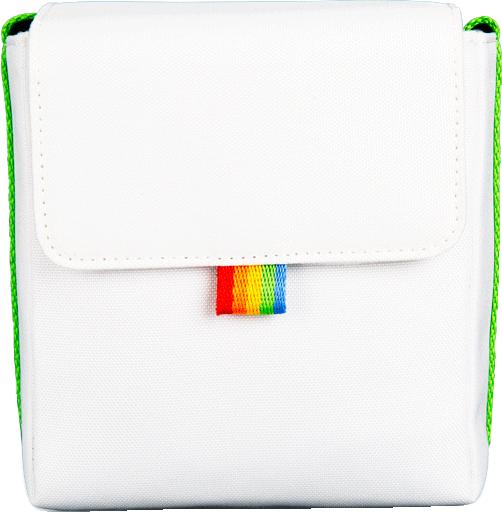Polaroid - Now Bag For Poloraid Camera - White/Green