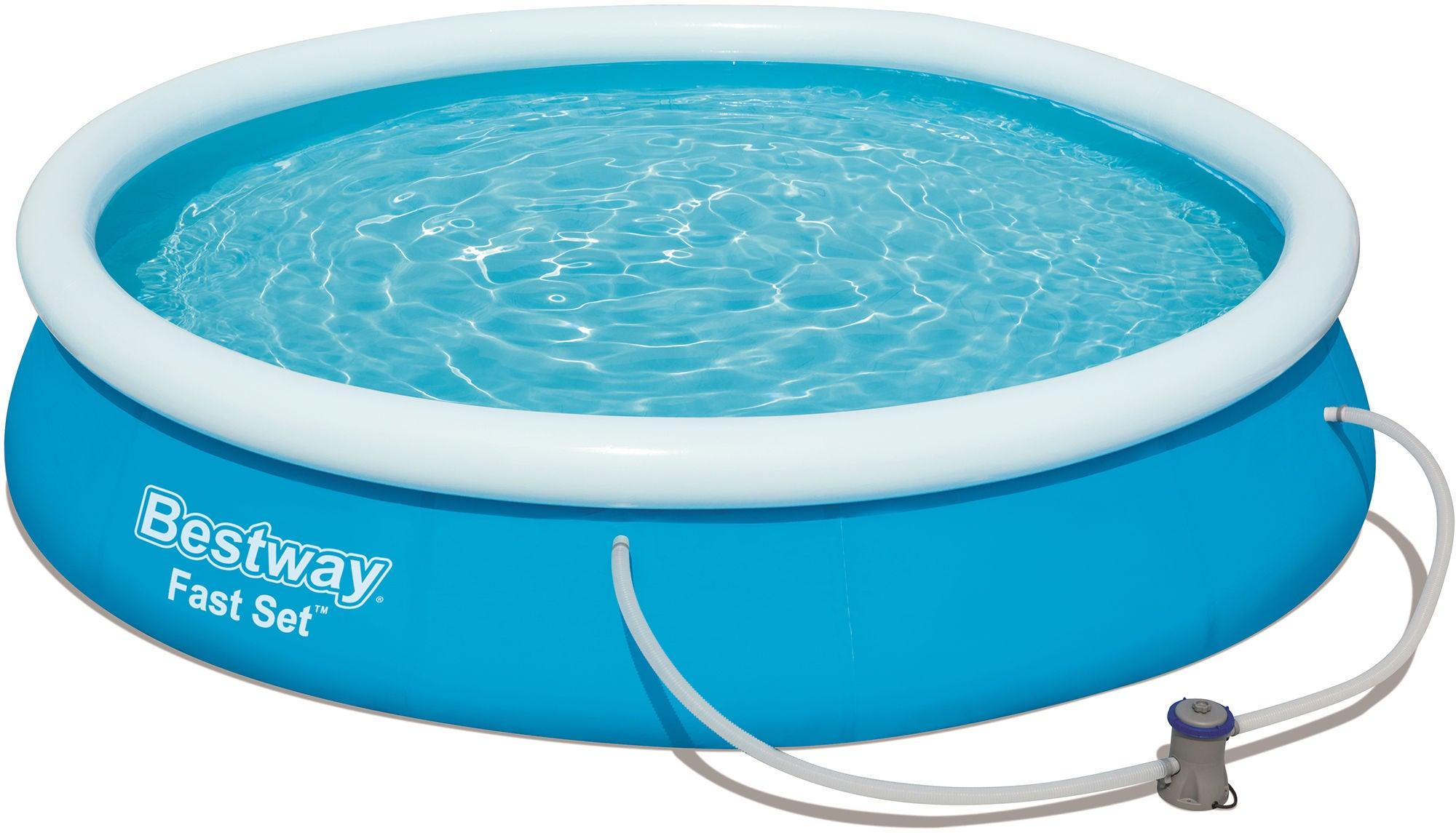 Bestway Fast Set Pool m. Tillbehör Ø366