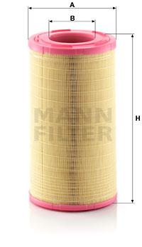 Ilmansuodatin MANN-FILTER C 26 1005