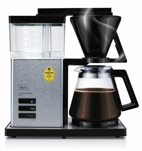 Melitta Aroma Signature Deluxe Steel Kaffebryggare - Rostfritt Stål
