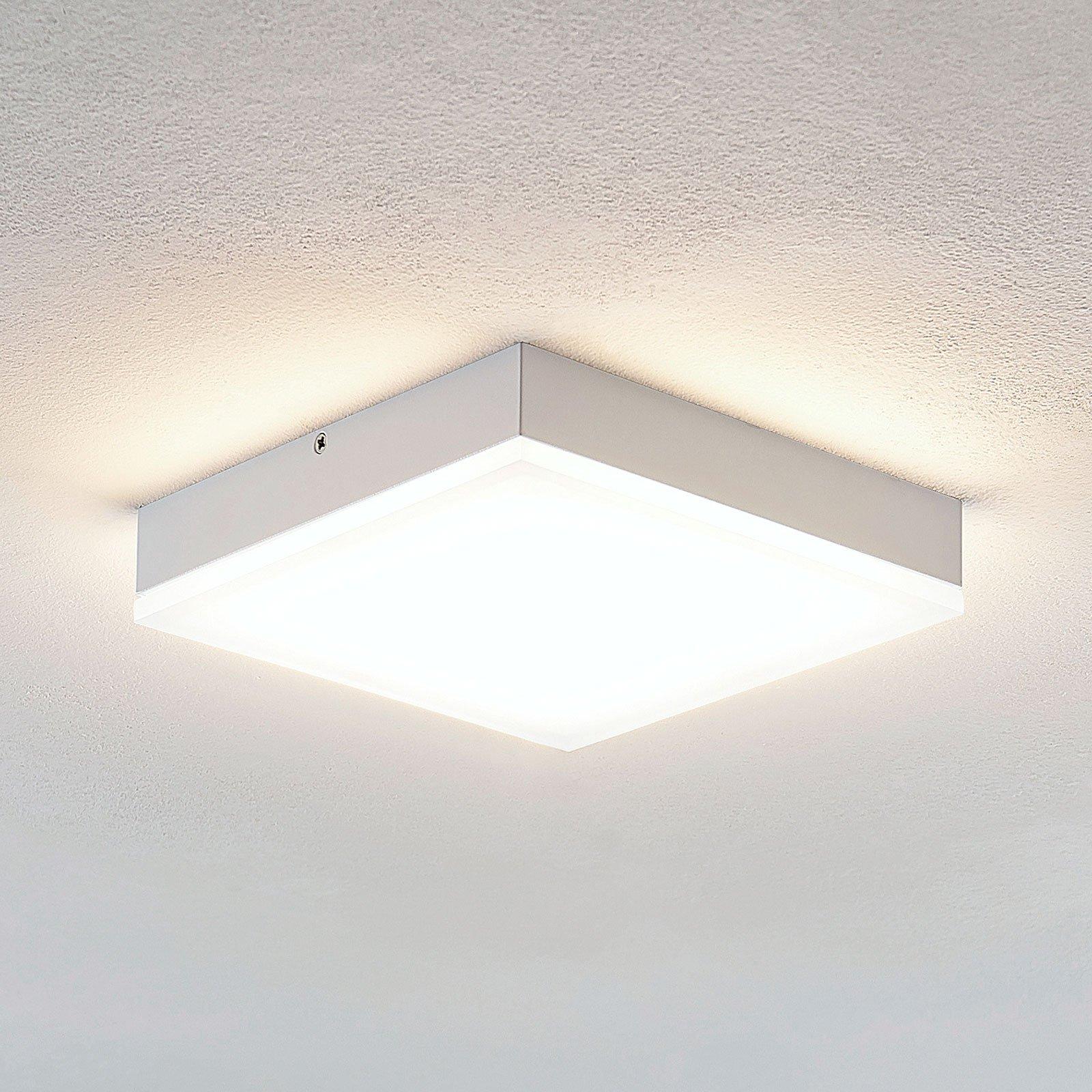 Lindby Tamito LED-taklampe, hvit, 20 cm