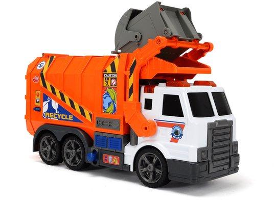 Dickie Toys Søppelbil Oransje