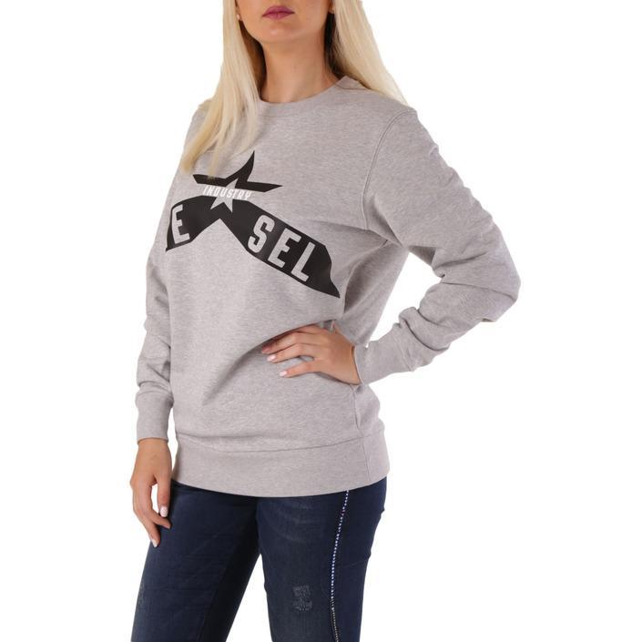 Diesel Women's Sweatshirt Grey 307328 - grey XS