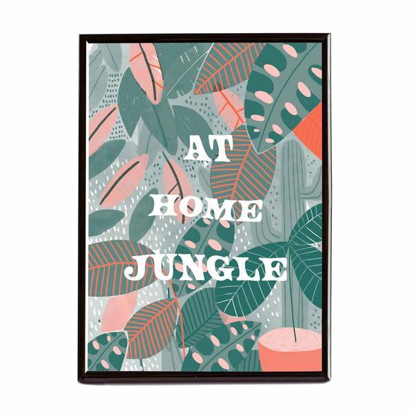 Home Jungle Riso Print A4