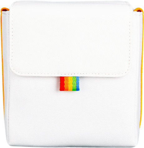 Polaroid - Now Bag For Poloraid Camera - White/Yellow