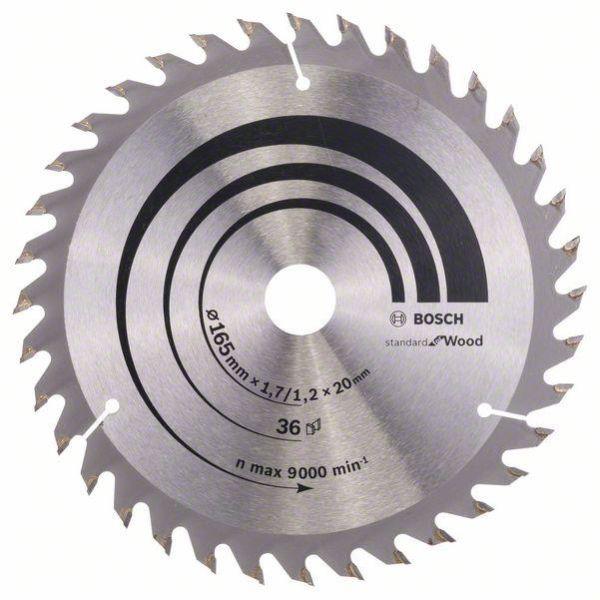 Bosch 2608642602 Optiline Wood Sagklinge 165x1,7x20mm, 36T