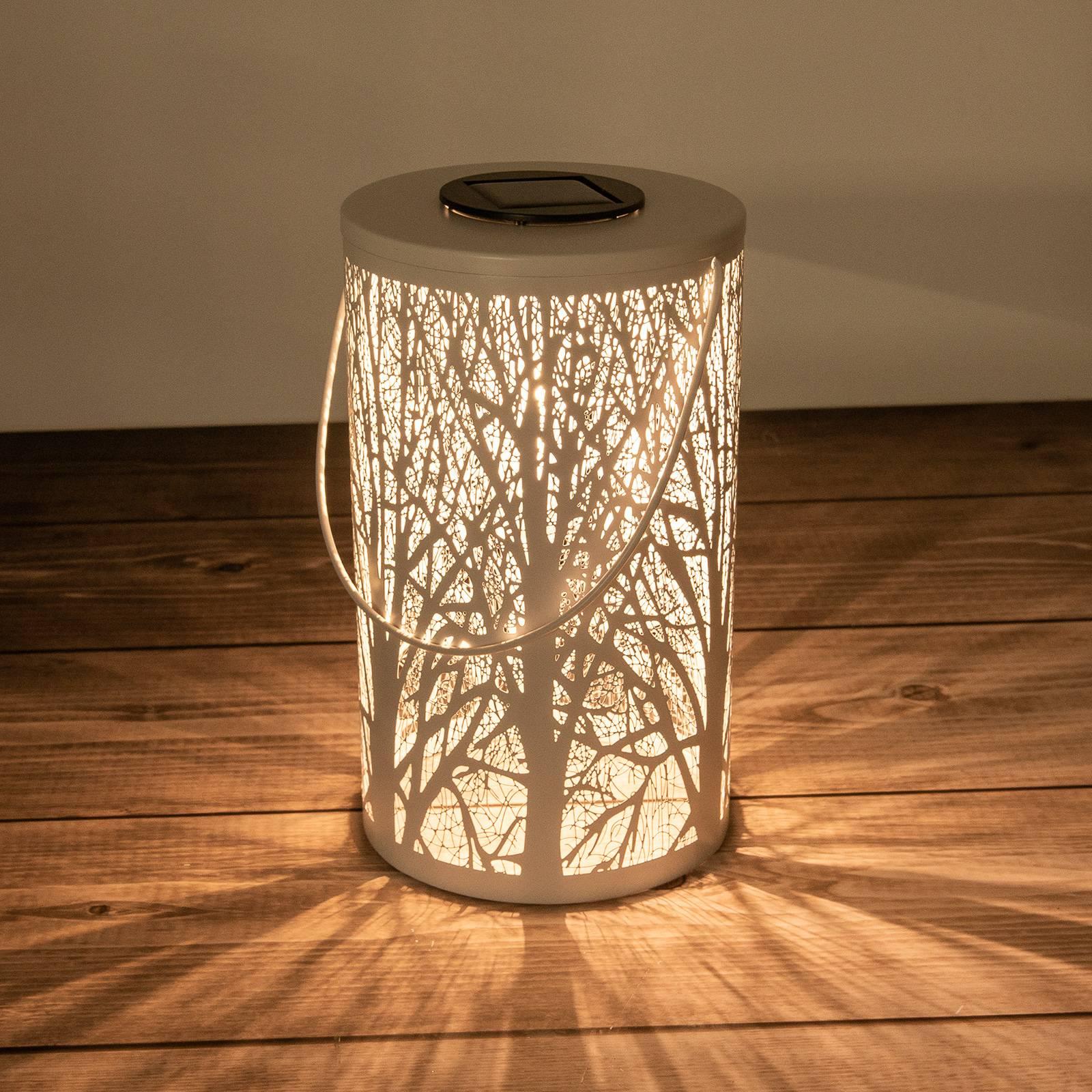 Aurinkokäyttöinen LED-lyhty 5266523, seinäkuvio