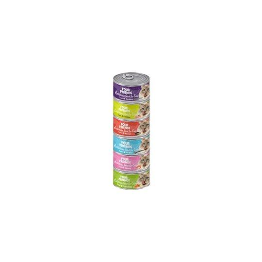 FourFriends Cat Mix 6-pack Våtfoder