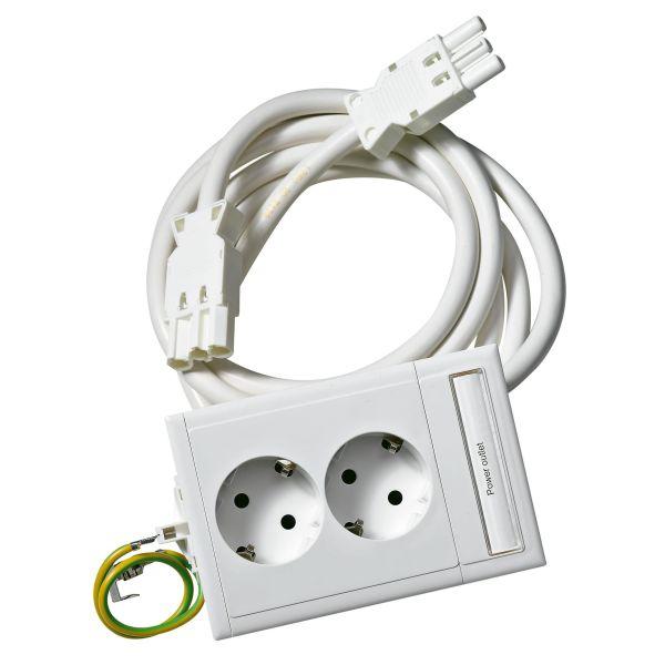 Schneider Electric 5940030 Slaveuttak 2-veis, hurtigkobling