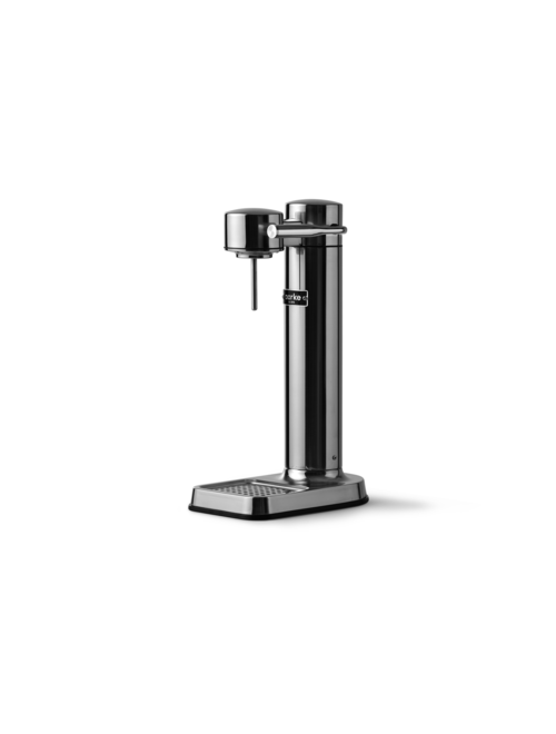 Aarke Carbonator Iii Polished Steel Kolsyremaskin - Stål