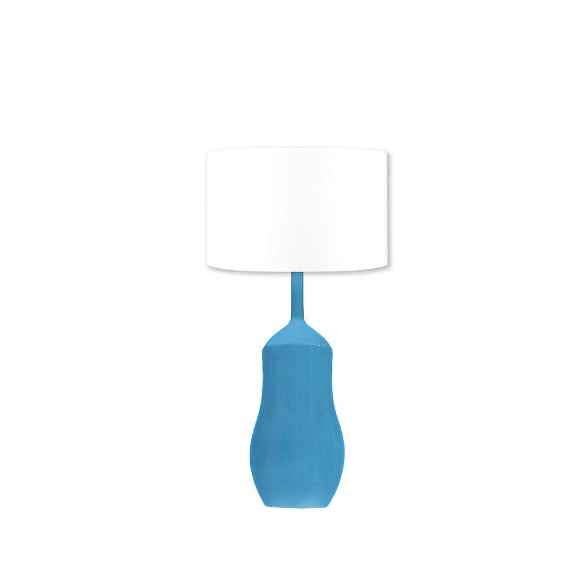 William Yeoward | Appia Table Lamp | Peacock