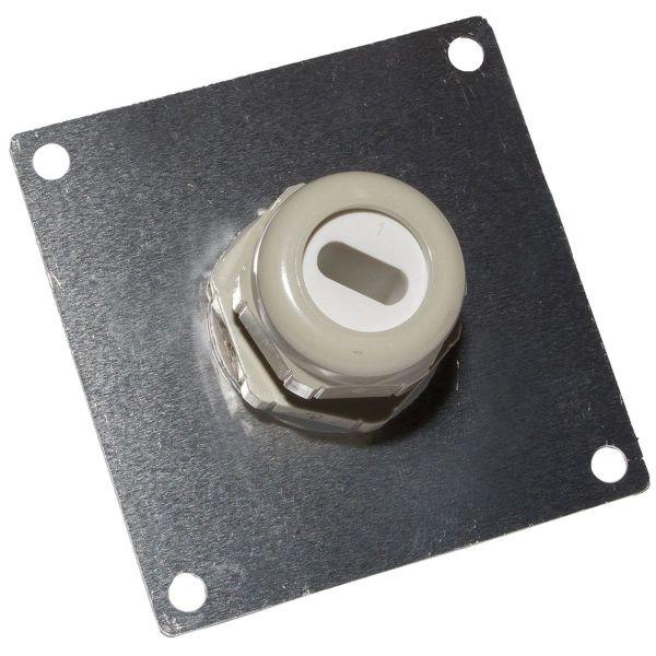 Ebeco 8935066 Läpivienti lämmityskaapelille ELSR-H, 70 x 70 mm