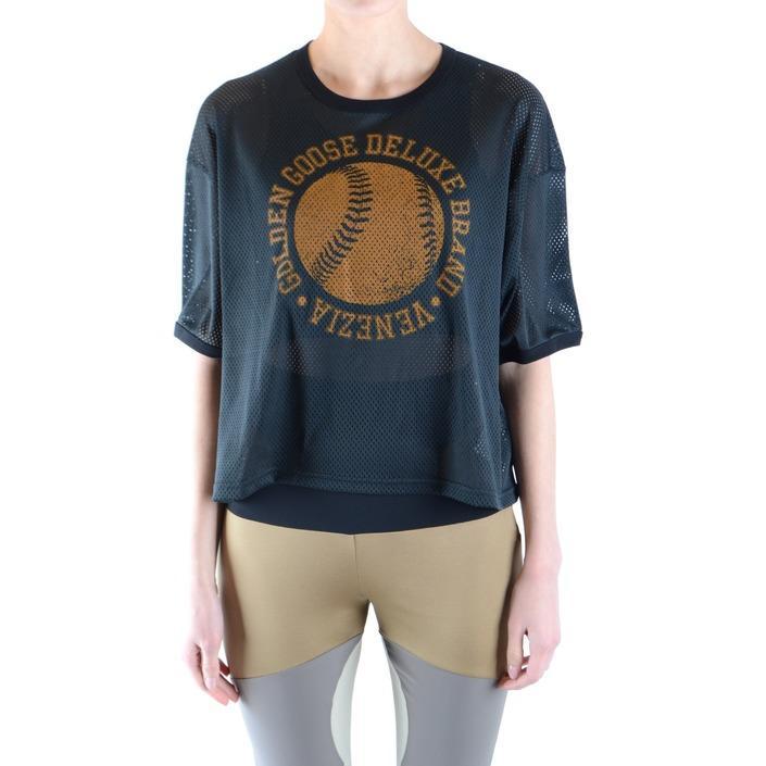 Golden Goose Women's T-Shirt Black 164893 - black XXS