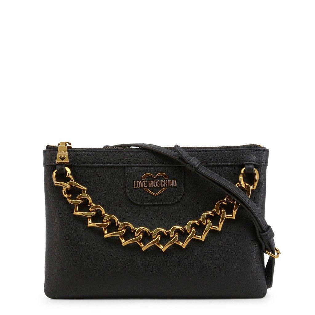 Love Moschino Women's Clutch Bag Various Colours JC4098PP1BLO - black NOSIZE