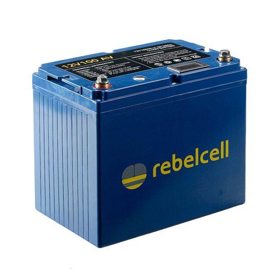 Rebelcell 12V 100 Ah litiumbatteri