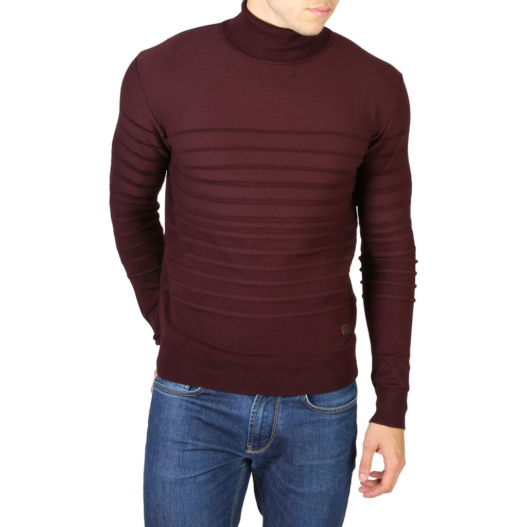 Yes Zee Men's Sweater Various Colours 0742_M836 - red XXL
