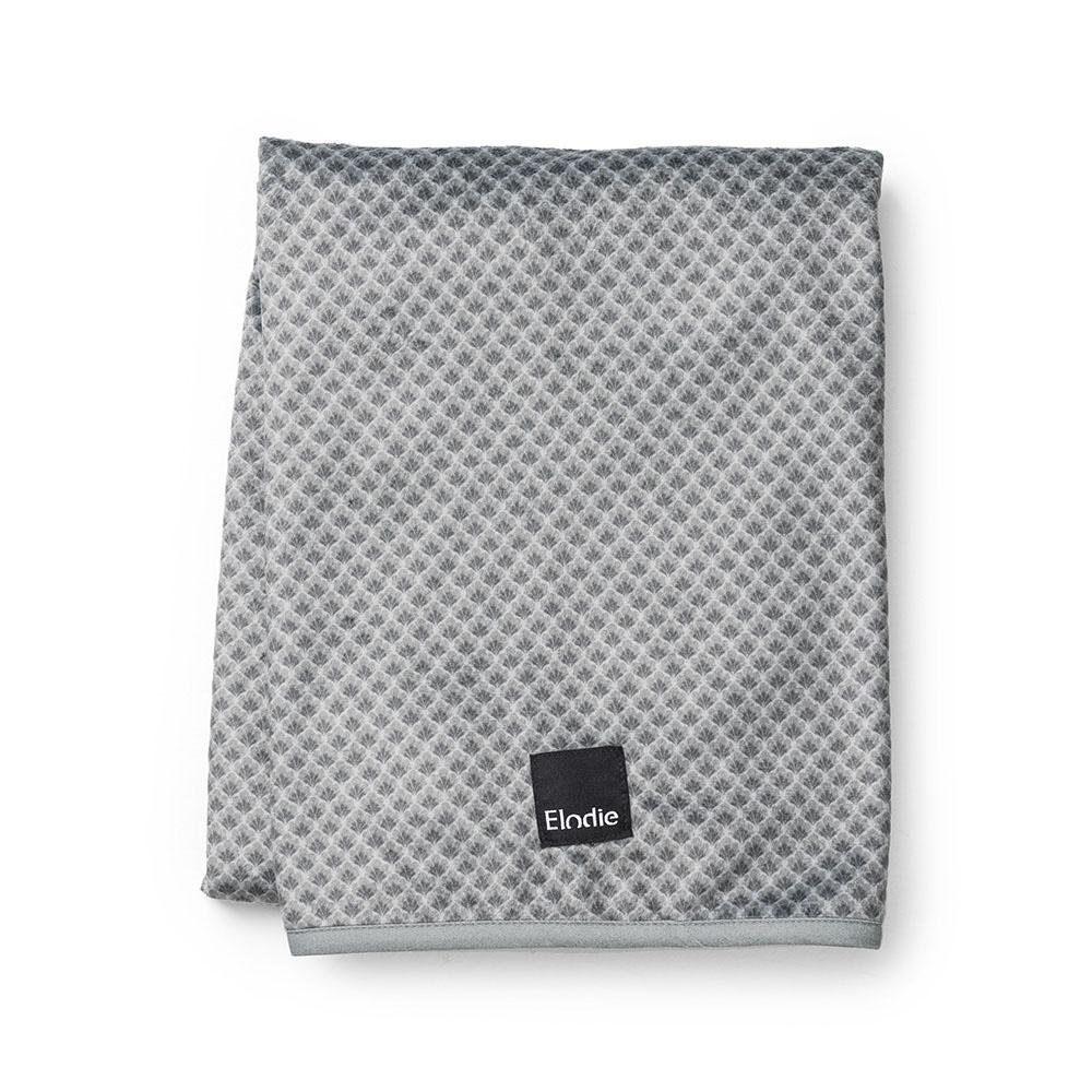 Pearl Velvet Blanket - Turquoise Nouveau