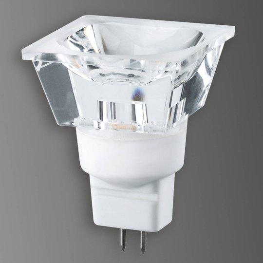GU5,3 3 W LED-heijastinlamppu Diamond, nelikulm.