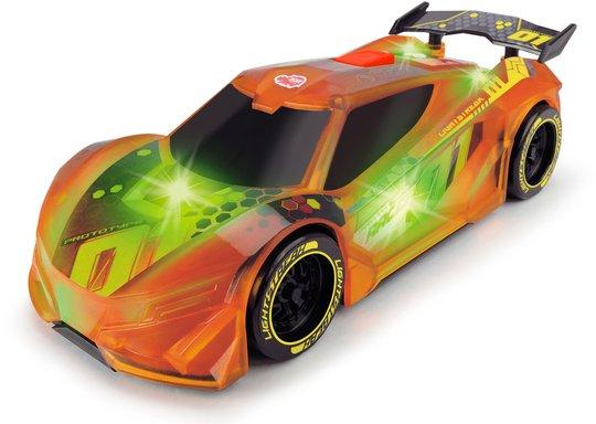 Dickie Toys Racing Bil, Oransje