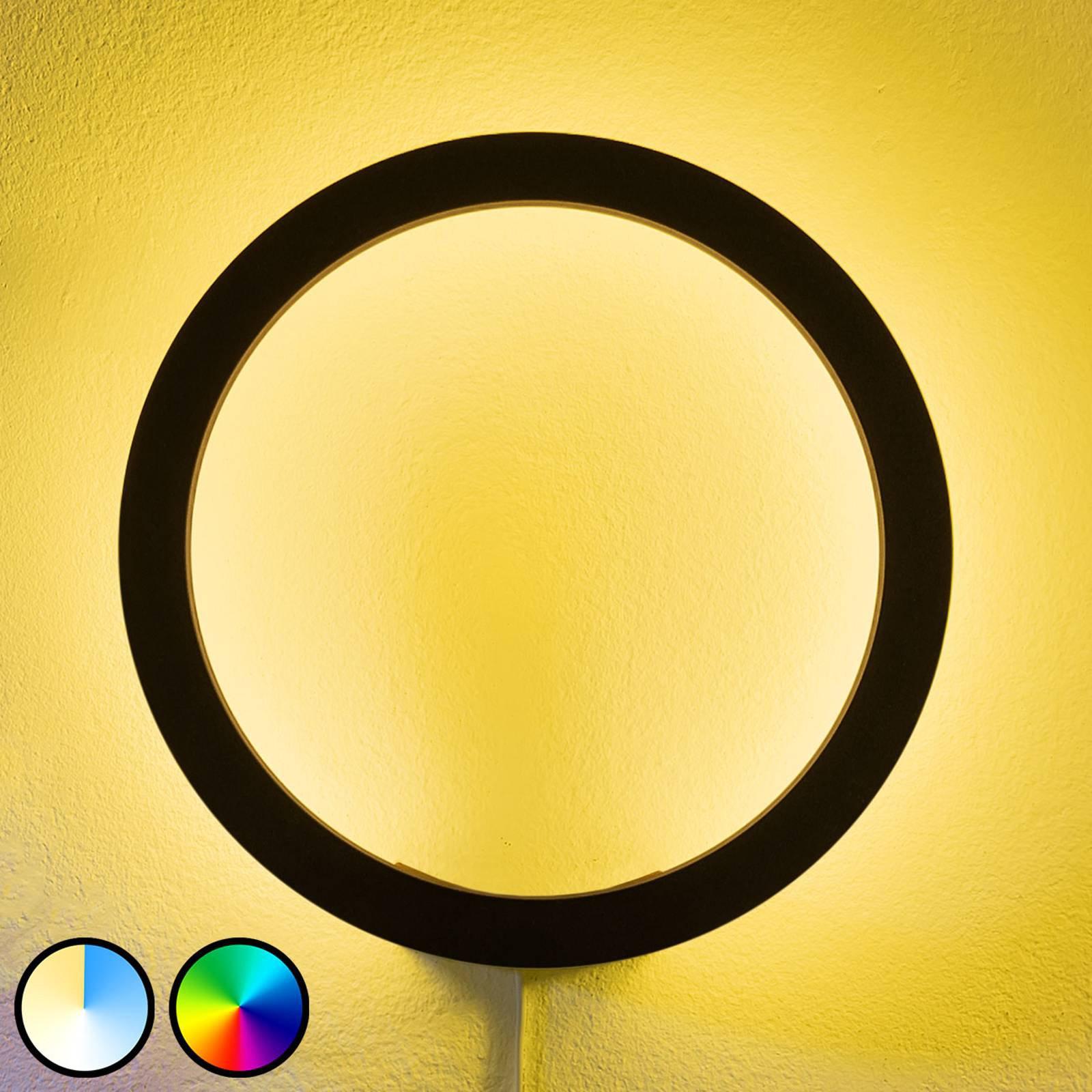 Philips Hue Sana LED-vegglampe, RGBW, svart