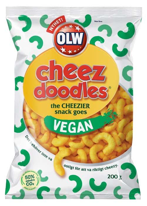 OLW Cheez Doodles Vegan 200g