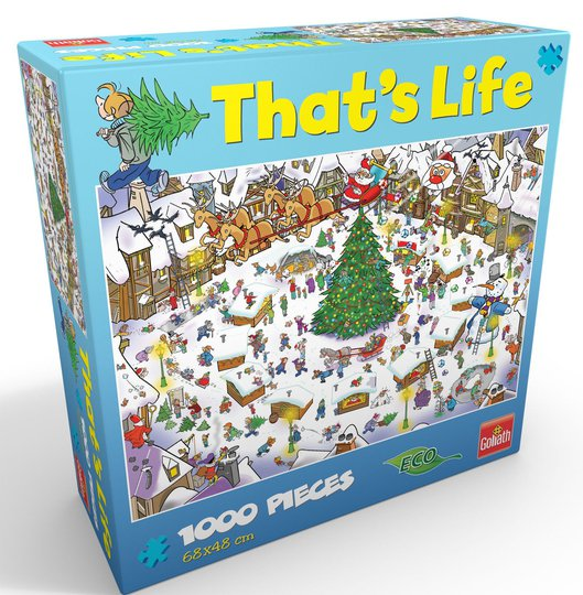 Goliath Games Puslespill That's life - Christmas 1000 Brikker