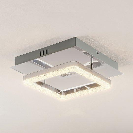 Lindby Charleen -LED-kattovalo, kromattu
