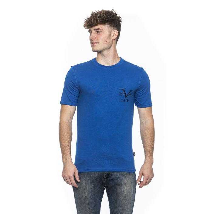 19v69 Italia Men's T-Shirt Blue 185201 - blue M