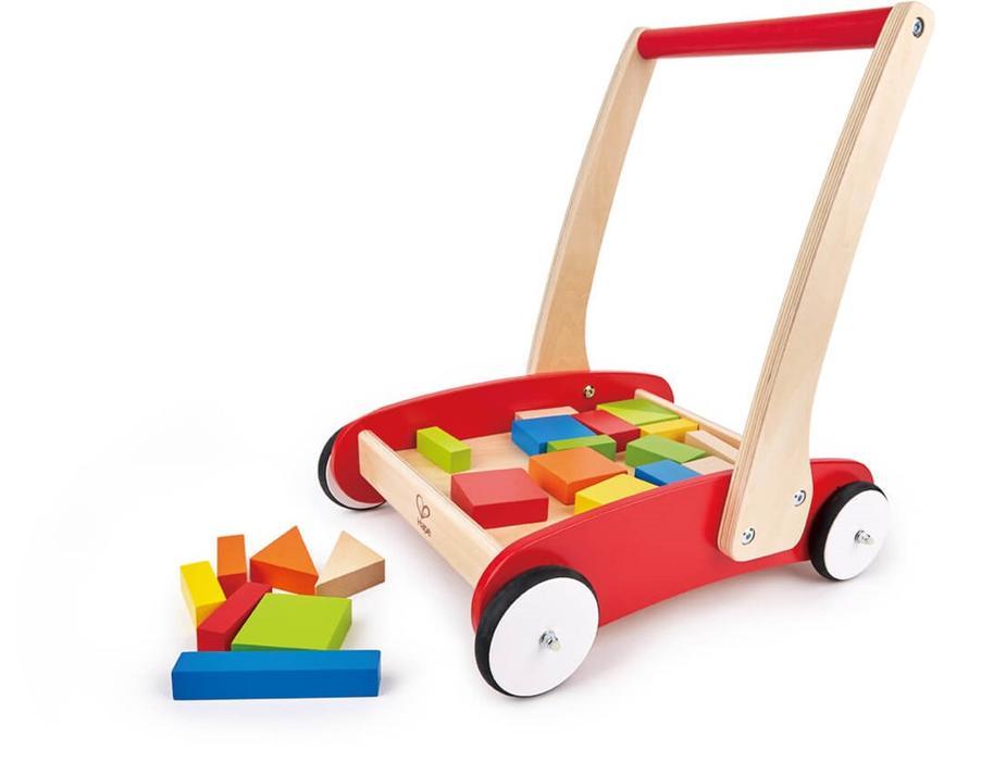 Hape - Trolley with blocks (8259)