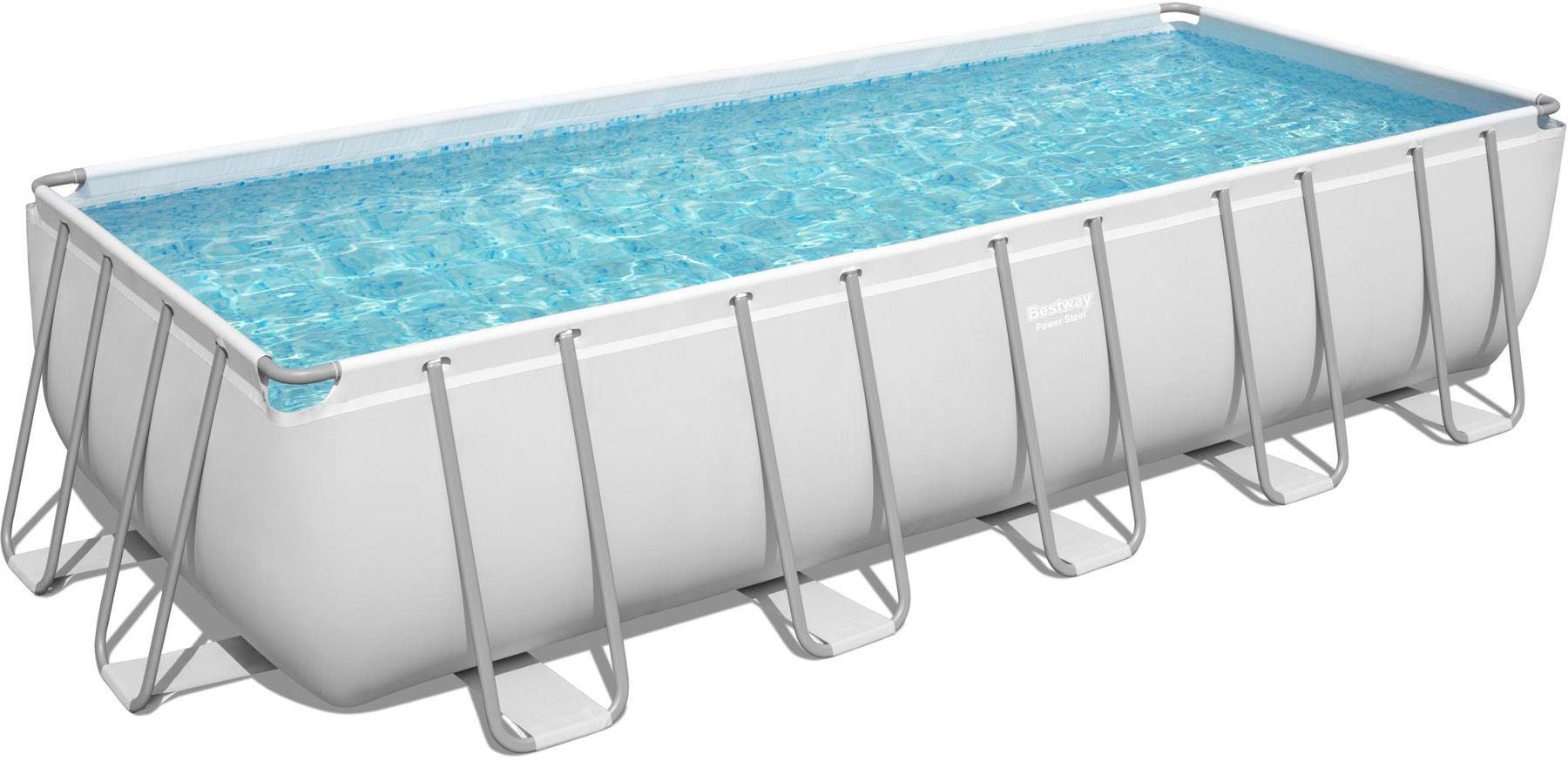 Bestway Power Steel Pool m. Tillbehör 640 x 274