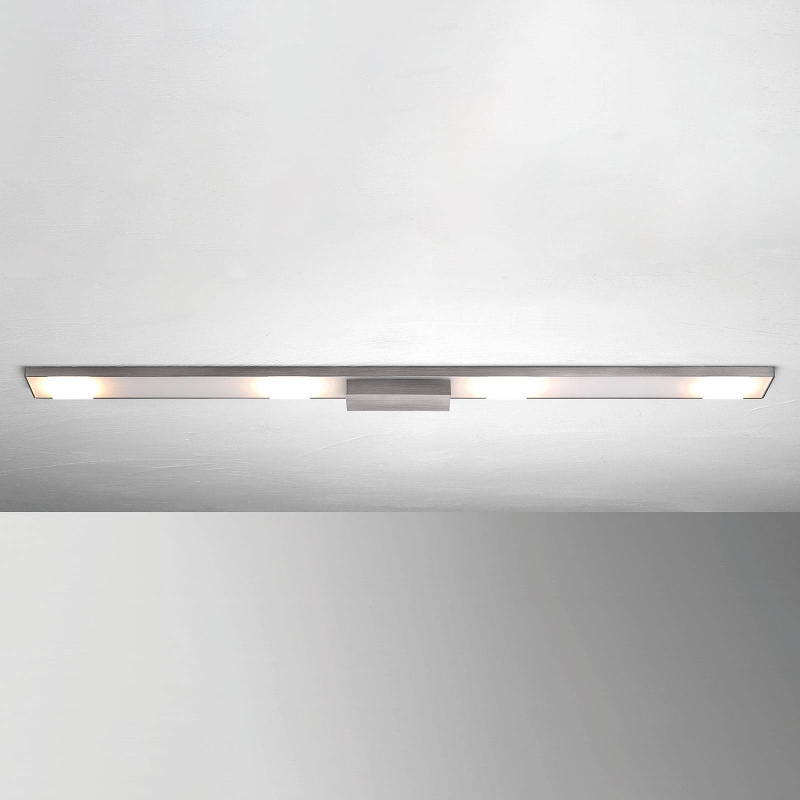 4-lamppuinen LED-kattovalaisin Slight, antrasiitti