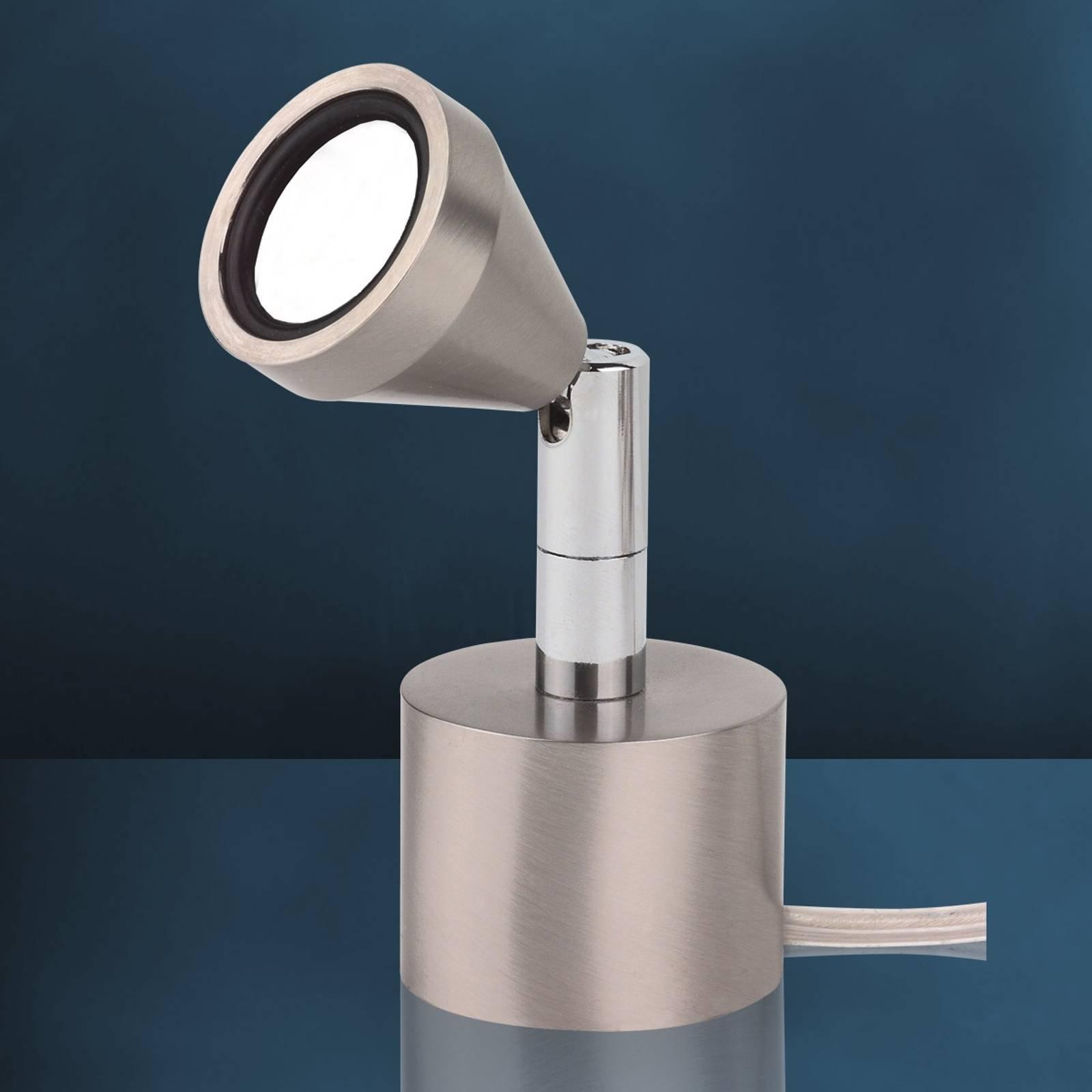Flott MINI LED-bordlampe med varmhvitt lys